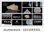 presentation slide template for ...   Shutterstock .eps vector #1011093331