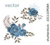 vector illustration of branch... | Shutterstock .eps vector #1011109084
