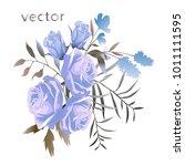 vector illustration of branch... | Shutterstock .eps vector #1011111595