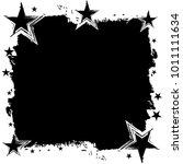 seamless grunge star pattern....   Shutterstock .eps vector #1011111634