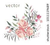 vector illustration of branch... | Shutterstock .eps vector #1011119689