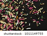 multicolored sprinkle for a... | Shutterstock . vector #1011149755