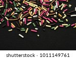 multicolored sprinkle for a... | Shutterstock . vector #1011149761