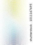 light blue  yellow abstract... | Shutterstock . vector #1011167695