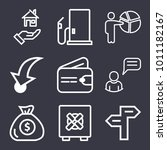 business outline vector icon... | Shutterstock .eps vector #1011182167