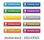 download buttons. vector...   Shutterstock . vector #101119321