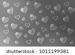 light gray vector template with ... | Shutterstock .eps vector #1011199381
