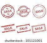 sale stamps | Shutterstock .eps vector #101121001