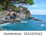 manarola. cinque terre. liguria....   Shutterstock . vector #1011215161