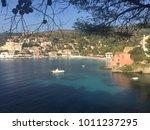 view on charming village assos... | Shutterstock . vector #1011237295