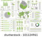 infographic ecological | Shutterstock .eps vector #101124961
