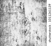 grunge black and white | Shutterstock . vector #1011261139