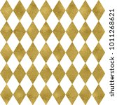 seamless diamond pattern with... | Shutterstock . vector #1011268621