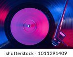 a retro styled spinning record... | Shutterstock . vector #1011291409