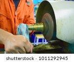 the small cnc lathe multi... | Shutterstock . vector #1011292945