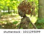 A Mythical Tree Woman Gazes...