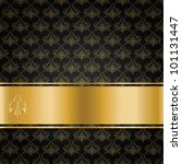 the black background with gold... | Shutterstock .eps vector #101131447