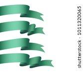 vector honorable satin ribbons. ...   Shutterstock .eps vector #1011320065