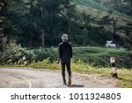 young in the mountains.the... | Shutterstock . vector #1011324805