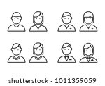 icon people  vector | Shutterstock .eps vector #1011359059