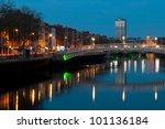 stunning nightscene with ha... | Shutterstock . vector #101136184