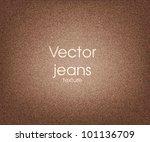 vector jeans texture | Shutterstock .eps vector #101136709