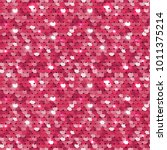 Seamless Pink Sequined Texture...