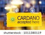 virtual money cardano... | Shutterstock . vector #1011380119
