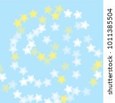 snowflake winter which consists ... | Shutterstock .eps vector #1011385504