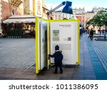 krakow  poland   nov 19  2017 ... | Shutterstock . vector #1011386095