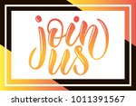 yellow and orange hand sketched ... | Shutterstock .eps vector #1011391567