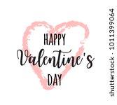 hand drawn lettering for... | Shutterstock .eps vector #1011399064