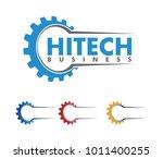 vector logo design of... | Shutterstock .eps vector #1011400255