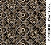 islamic vector design. seamless ... | Shutterstock .eps vector #1011416779