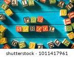 close up arrangement of ... | Shutterstock . vector #1011417961