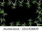 leaves background. bamboo... | Shutterstock .eps vector #1011428839