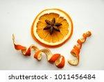 Dried Orange Slice And Curled...