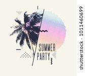 Summer Party  Modern Poster...