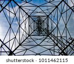 abstract metal frames | Shutterstock . vector #1011462115