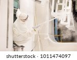 metal surface finishing ... | Shutterstock . vector #1011474097