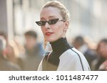 milan   january 13  elina... | Shutterstock . vector #1011487477