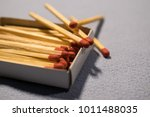 matches on the table | Shutterstock . vector #1011488035
