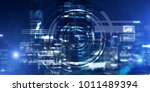 background conceptual image... | Shutterstock . vector #1011489394