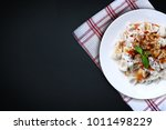 plates of traditional turkish... | Shutterstock . vector #1011498229