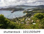 english harbour is a natural...   Shutterstock . vector #1011505699