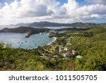 english harbour is a natural...   Shutterstock . vector #1011505705