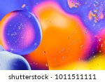 abstract molecule sctructure.... | Shutterstock . vector #1011511111