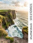 the cliffs of moher  ireland... | Shutterstock . vector #1011520021