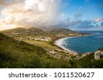 frigate bay on saint kitts and...   Shutterstock . vector #1011520627