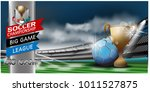 sports stadiums and football... | Shutterstock .eps vector #1011527875